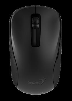 GENIUS Myš NX-7005, 1 ks AA, bezdrátová, optická, 3tl., 1 kolečko, bezdrátová, černá, 1200