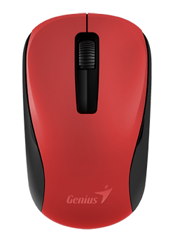 GENIUS Wireless myš NX-7005, USB, červená , 1200dpi, BlueEye