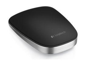 LOGITECH myš Ultra-Thin Touch Mouse T630 (Black), Bluetooth, dobíjecí
