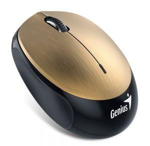 GENIUS NX-9000BT/ Bluetooth 4.0/ 1200 dpi/ bezdrátová/ dobíjecí baterie/ zlatá