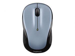 LOGITECH myš Wireless Mouse M325 Light Silver, optická, Unifying přijímač