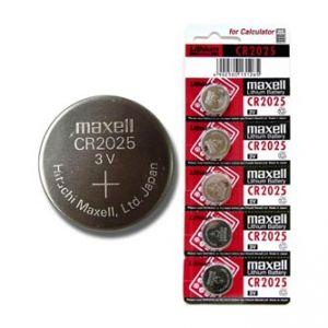 Baterie lithiová, CR2025, 3V, Maxell, blistr, 5-pack, cena za 1 ks baterie