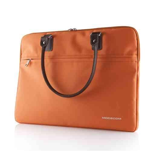 "MODECOM taška CHARLTON na notebooky do velikosti 15,6"" oranžová ..."