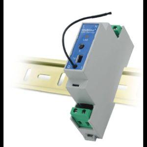 QUBINO stmívač, DIN lišta, 1x 230V, měření spotřeby, Z-Wave plus