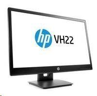 """HP LCD VH22 LED 21.5""""wide, (TN, 1920x1080, 5ms, 1000:1, 250 nits, VGA, DP, DVI-D)"""