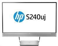 "HP LCD S240uj 23,8"" USB-C Wireless Charging Monitor (2560x1440,IPS,300nits,1000:1,5ms,HDMI"