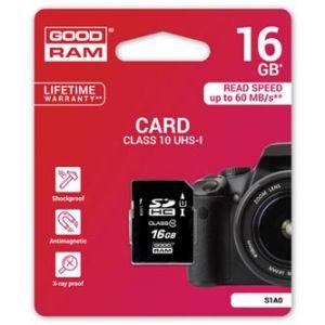 GOODRAM Secure Digital Card, 16GB, SDHC,, UHS-I