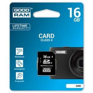 GOODRAM Secure Digital Card, 16GB, SDHC, , Class 4