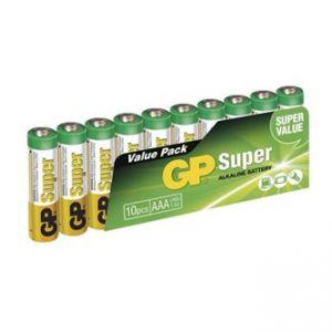 Baterie alkalická, AAA, 1.5V, GP, blistr, 4 pack, cena za 1 ks baterie