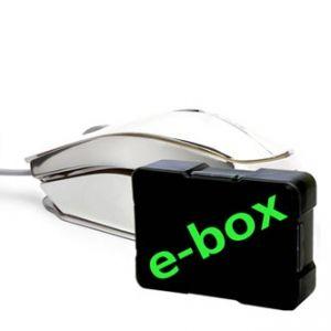 E-BLUE Myš MOOD, optická, 3tl., 1 kolečko, drátová (USB), stříbrná, 2400DPI, herní