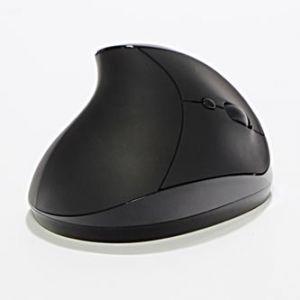 Myš Ergo optická 2 ks AAA 6tl., 1 kolečko, bezdrátová, černá 1600DPI