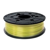 XYZ da Vinci 600gr Clear Yellow PLA Filament Cartridge