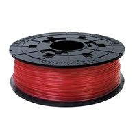 XYZ Junior 600gr Clear Red PLA Filament Cartridge