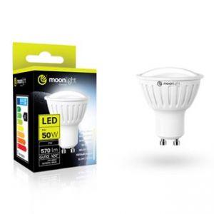 LED žárovka MOONLIGHT GU10, 3W, 240lm, teplá, 50mm/54mm