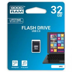 GOODRAM USB flash disk, 2.0, 32GB, UPI2, černý, UPI2-0320K0R11
