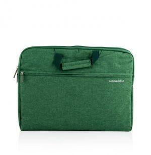 """MODECOM taška HIGHFILL na notebooky do velikosti 15,6"""", 2 kapsy, zelená"""