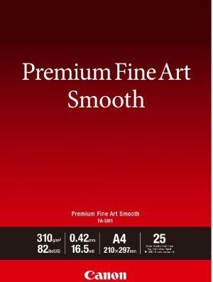 CANON fotopapír Premium FineArt Smooth A4 25 sheets