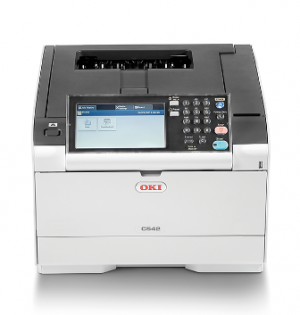 OKI C542dn Barevná tiskárna A4 30str 1200x1200dpi 1GB RAM, PCL + PS, USB2.0 + LAN duplex