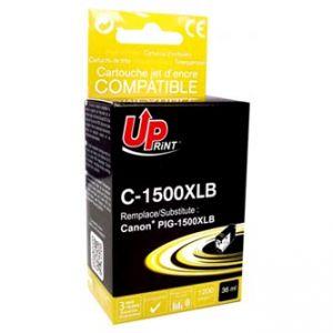 UPRINT kompatibilní ink s PGI 1500XL, black, 36ml, C-1500XLB, high capacity, pro CANON MAX