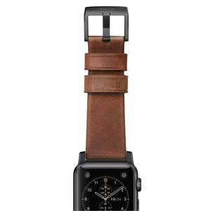 NOMAD Horween Leather Strap for APPLE Watch B