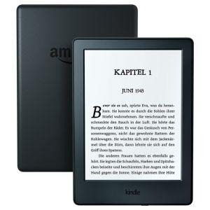 """AMAZON NEW KINDLE 8 TOUCH, 6"""" E-ink displej, WIFi, Sponzorovaný, černý"""