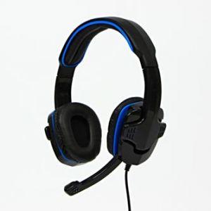 Sluchátka HS-501, herní sluchátka s mikrofonem, ovládání hlasitosti, černá, 3.5 mm jack