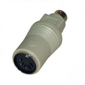 Klávesnice Redukce, PS/2 M-5 pin F, 0, černá, LOGO