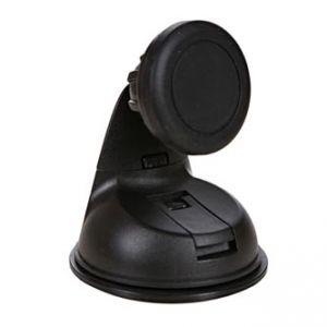 SWISSTEN Magnetický držák mobilu(GPS) do auta, nastavitelná šířka, černý, plast, přísavka