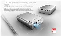 ASUS E1 ZenBeam E1 - 854x480, 150lum, HDMI, USB-dobíjení, MHL, 0.5-5m, 0.5kg