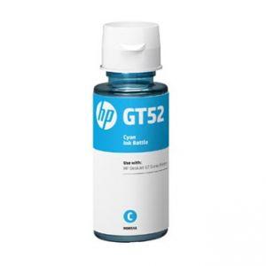 HP M0H54AE GT52 originální ink bottle modrá/cyan 8000str., 70ml, HP DeskJet GT