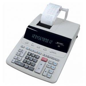 Kalkulačka SHARP, CS2635RHGYSE, bílá, stolní s tiskem, dvanáctimístná