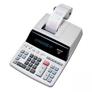 Kalkulačka SHARP, EL2607PGGYSE, bílá, stolní s tiskem, dvanáctimístná