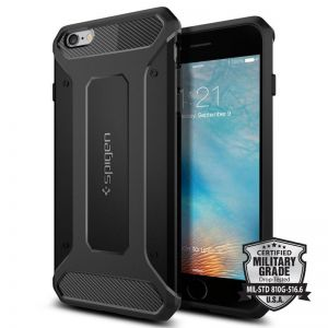SPIGEN Capsule Ultra Rugged, black - pro APPLE iPhone 6s+