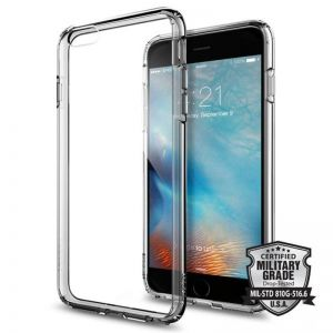 SPIGEN Ultra Hybrid, space crystal - pro APPLE iPhone 6+/6s+