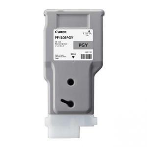 CANON originální ink PFI-206PGY, light grey, 300ml, 5313B001, CANON iPF-6400,iPF-6450