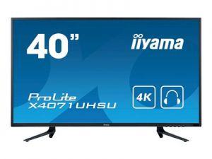"""IIYAMA ProLite X4071UHSU-B1 - LED monitor - 40"""" (39.5"""" zobrazitelný) - 3840 x 2160 4K - MV"""