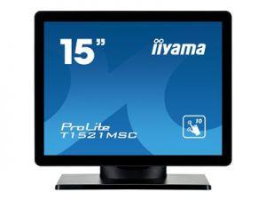 "IIYAMA ProLite T1521MSC-B1 - LED monitor - 15"" - dotykový displej - 1024 x 768 - TN - 350"