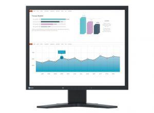 """EIZO FlexScan S1934H - LED monitor - 19"""" - 1280 x 1024 - IPS - 250 cd/m2 - 1000:1 - 14 ms"""