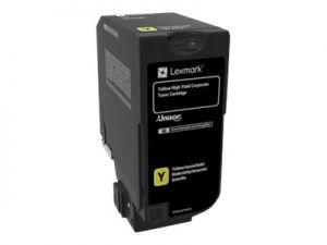 LEXMARK 74C2HYE Vysoká výtěžnost - žlutá - originál kazeta LEXMARK Corporate