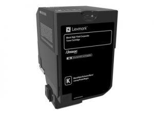 LEXMARK 74C2HKE Vysoká výtěžnost - černá - originál kazeta LEXMARK Corpo