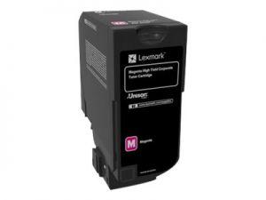 LEXMARK 84C2HME Vysoká výtěžnost - purpurová - originál kazeta LEXMARK C