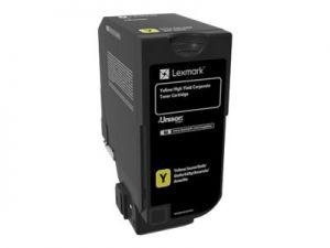 LEXMARK 84C2HYE Vysoká výtěžnost - žlutá - originál kazeta LCCP, LRP, LEXMARK Corpo