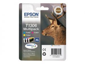 EPSON T1306 Stag XL 10.1ml CMY SEC, T1306 Stag XL 10.1ml CMY SEC