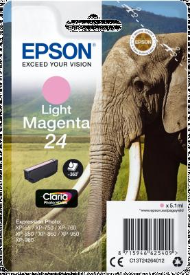EPSON 24 Elephant 5.1ml LMG, 24 Elephant 5.1ml LMG