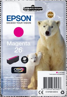 EPSON 26 POLAR Bear 4.5ml MG, 26 POLAR Bear 4.5ml MG