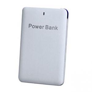 Power Bank, Li-ion, 5V, 2500mAh, nabíjení mobilních telefonů aj., SLIM, mikro USB a lighti