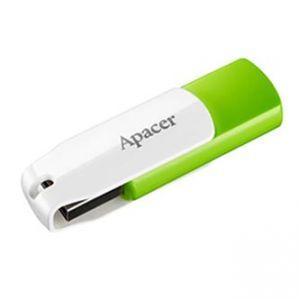 APACER USB Flash Drive, 2.0, 64GB, AH335, zelený, AP64GAH335G-1