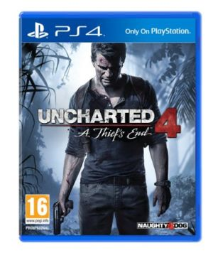 PS4 - Uncharted 4: A Thiefs End