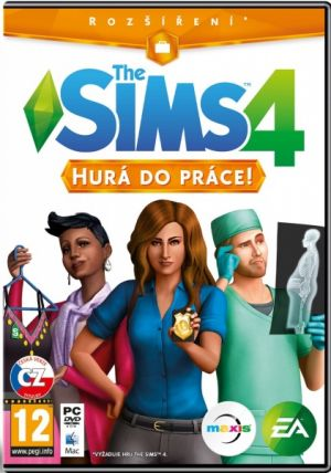 The Sims 4 - Hurá do práce - PC DVD