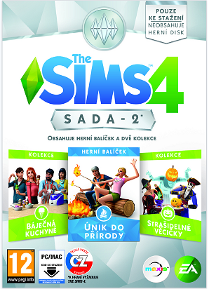 The Sims 4 Bundle Pack 2 - PC DVD
